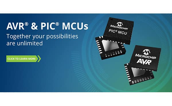 Image of Microchip's PIC® & AVR® MCUs